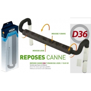 ROD REST  D36, 7 screens or smooth