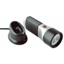 2 LED rechargeable flashlight