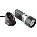 2 LED rechargeable flashlight