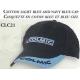 COTTON LIGHT BLUE AND NAVY BLUE CAP