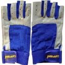 Leder-Handschuhe, Kerze, abgetrennten Fingern