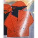 chaqueta MAR , vermello / azul