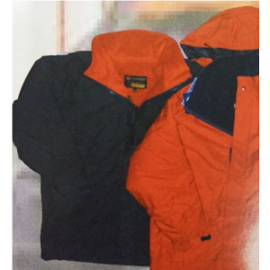 SEA JACKET NAVY / RED