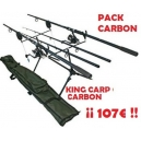 CARBON Carp Kit - Complete 2 CANNAS Set-up