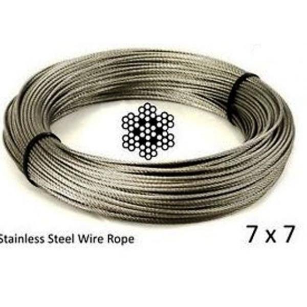 sureweld steel trace cable de acero trenzado acier trace