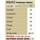 BREATHABLE WADER AQUAZ BR K-701 F