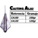 PLOMO CASTING ALAS  CON PLASTICO PROTECCION