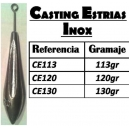 CHUMBO CASTING SULCO HASTE STAINLESS