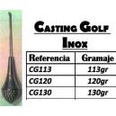PLOMB CASTING GOLF BARRE INOX