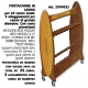 LINEAEFFE EXPOSITOR WOOD HANGER WITH WHEELS