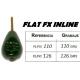 FLAT FX INLINE PLASTIC LEAD