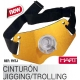 Combat Belt - Arnes Hart in yellow aluminum - Jigging / Trolling