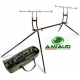 AMIAUD ROD POD STEEL EASY CARP'O