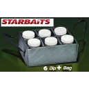 STARBAITS 6 BOTTLE SET + BAG