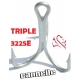 CANNELLE ANZUELO TRIPLE 3225E
