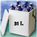 Kühlschrank 31 L. Porexpan