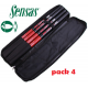 SENSAS PACK 4 RODS MINI CARPE TELE
