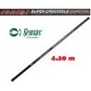 SENSAS LANDING NET HANDLE SUPER COCODRILE COMPETITION 4.30M.
