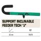 SENSAS RECLINER SUPPORT FEEDER TECH '' J '' 42 CM.