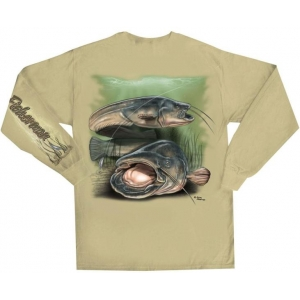 FLYING FISHERMAN CATFISH SAFARI T-SHIRT