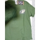 t-shirt flying fisherman carp tee military green