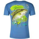 FISHING T-SHIRT AL AGNEW POPPER BASS