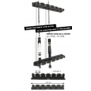 SUPPORT, RACKS, 6 RODS (2 UNITS)