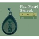 FLAT PEAR LEAD WITH SWIVELS