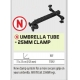 SENSAS UMBRELLA SUPPORT TUBE - JAW D.25MM