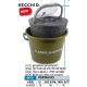 LINEAEFFE FISH FOOD PAIL WITH LIFE BAIT BUCKET