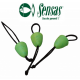 SENSAS CRAZY BAITS SOFT CONNECTORS 3 PCS.