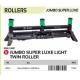 JUMBO SUPER LUXURY LIGHT ROLLER TWIN 60CM