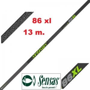 SENSAS CAÑA ENCHUFABLE NANOFLEX CONICAL 86 XL 13M.