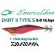 DAIWA JIBIONERAS PLOMEADAS EGI EMERALDAS DART II 3.0, 13.5 GR.
