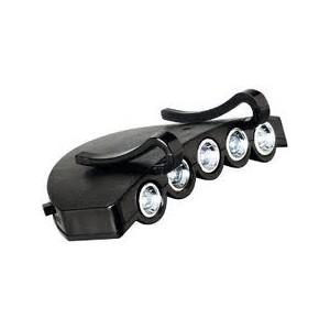 Headlamp with 5 LED Visor