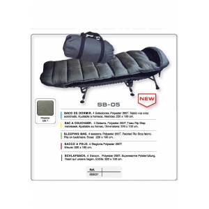 SLEEPING BAG VORTEKS SB-05