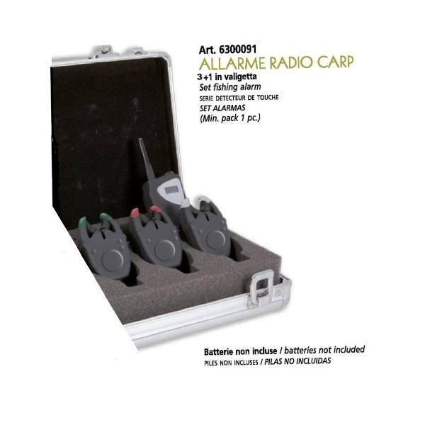set fishing alarm lineaeffe allarme radio carp detecteur de touche set alarmas. Black Bedroom Furniture Sets. Home Design Ideas