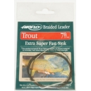 TROUT TAPERED BRAIDED LEADER