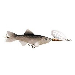 spinner with rubber fish BOGUE KILLER
