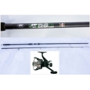 ROD MASTER CARP + REEL ALL ROUND