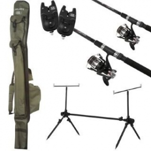 Carp Kit - Complete 2 Rod Set-up