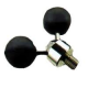 SUPPORT ROD STEEL BALLS