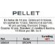 VORTEKS PELLET BROWN 10 PCS