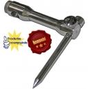 soporte para pica  ajustable,estabilizador ,acero inoxidable,