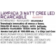 CREE LED RECHARGEABLE