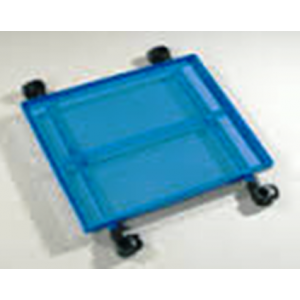 Painted alu Side Tray BLUE