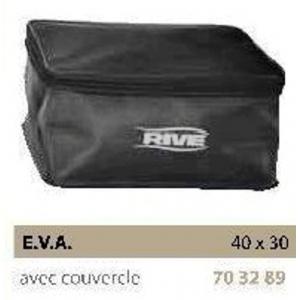 BAC E.V.A. BLACK, WITH LID